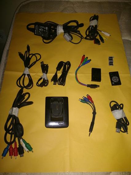 Bateria Sapata Fonte Controte Remoto Sanyo Xacti Vpc-hd1000