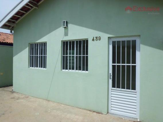 Casa Com 2 Dormitórios À Venda, 40 M² Por R$ 220.000,00 - Cooperlotes - Paulínia/sp - Ca1166