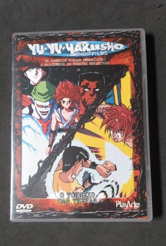 Dvd Duplo - Yuyu Hakusho - O Torneio Das Trevas Volumes 8/9