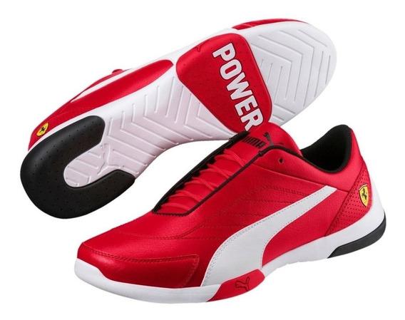 Tenis Puma Sf Kart Cat Iii Para Hombre Ferrari Rojo