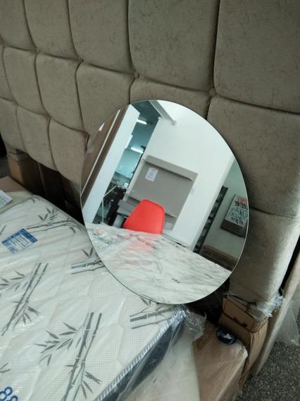 Espelho Decorativo De Vidro Diametro 60 Cm