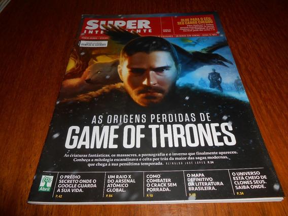 Revista Super Interessante Origem Perdida De Game Of Thrones