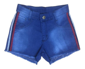 04 Shorts Jeans Feminino Cintura Alta Atacado Hot Pants Top