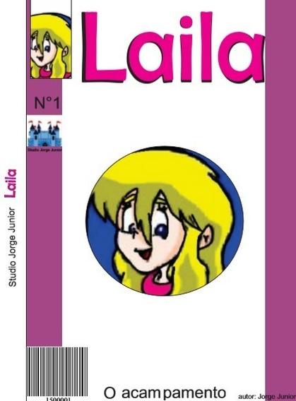 Revista Em Quadrinhos Infantil Laila O Acampamento