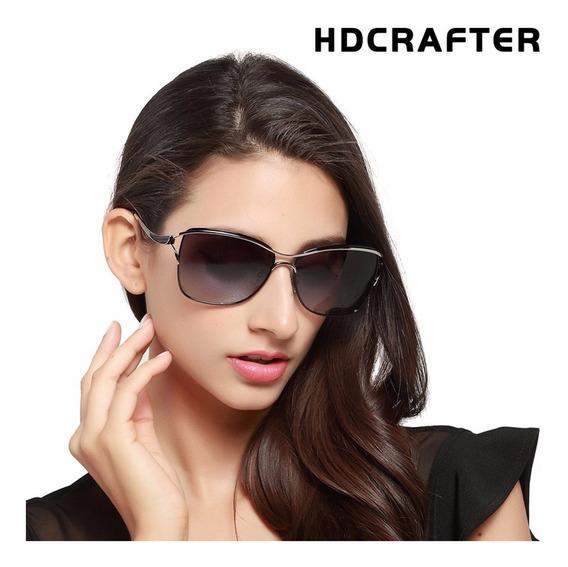 Óculos De Sol Feminino Hdcrafter® Polarizado Uv400 - Oferta