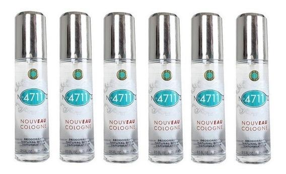 Kit Com 06 Desodorantes Cologne Nouveau 75ml, Da 4711
