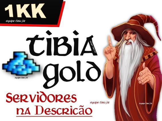 Tibia Gold 1kk +50k. ( Servidores Br + Serv. Pvp )