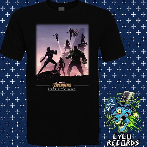 Imagen 1 de 3 de Avengers - Infinity War 2 - Polera- Cyco Records