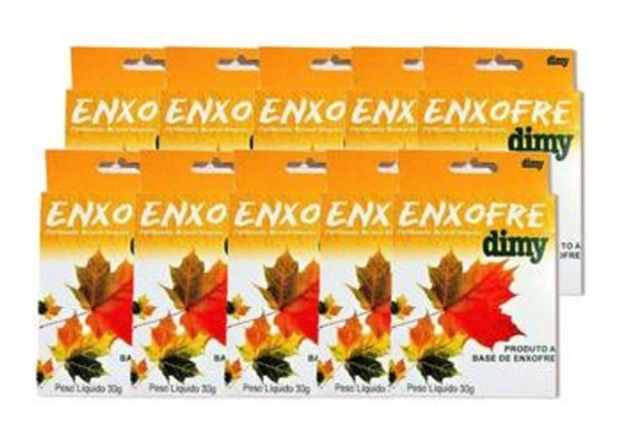 Enxofre Dimy Adubo 30g 5 Unidades + Brinde