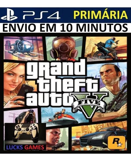 Grand Theft Auto Ps4 Mídia Digital - Primária