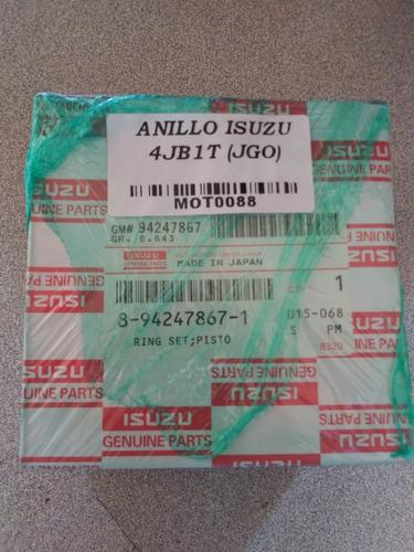 Juego De Anillos Motor Isuzu 4jb1t // Camion Nhr - Nkr