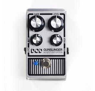 Distorsión Dod Gunslinger Mosfet Distortion Pedal P/guitarra