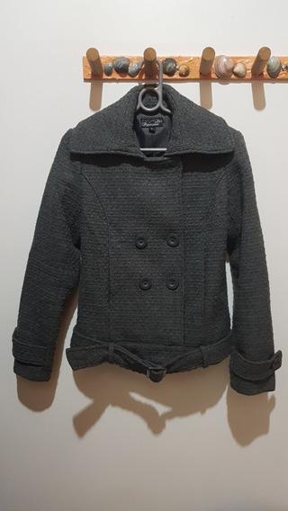 Jaqueta Em Lã Tipo Aviador
