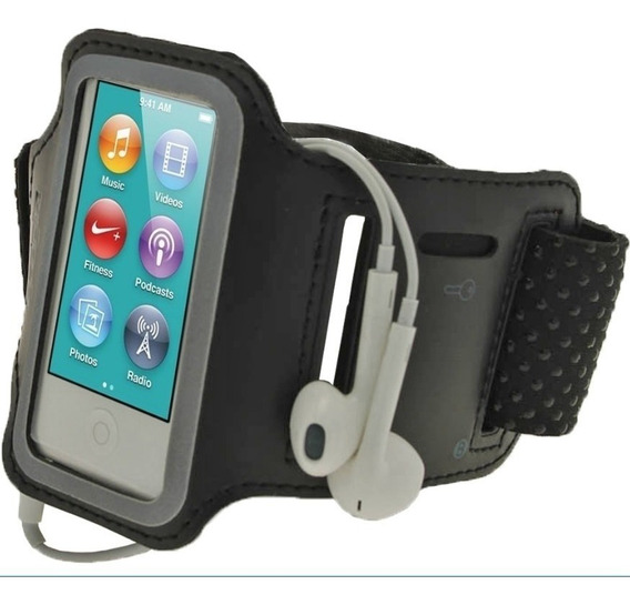 Armband Braçadeira Capa Case Protetor Película iPod Nano 7