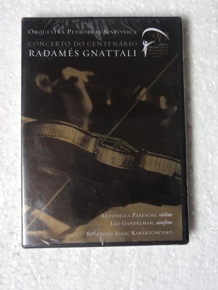 Dvd Radamés Gnattali - Concerto Do Centenário Novo Lacrado!!
