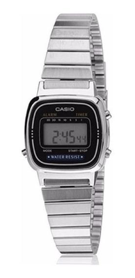 Relógio Casio Vintage Aço Prata