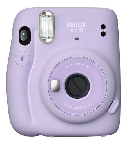Camera Instax Mini 11 - Lilás + Kit Com 20 Poses
