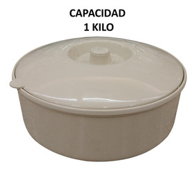 Tortillero Plástico Capacidad 1 Kg 12 Piezas Incluye Envío