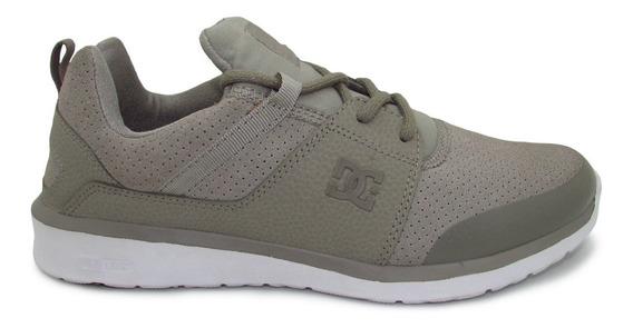 Tenis Dc Shoes Heathrow Prestige Adys700084 Stn Stone Piel