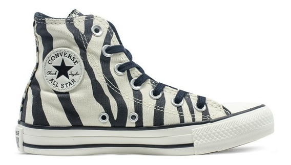 Botitas Converse All Star Cebra Animal Print Mujer Exclusiva
