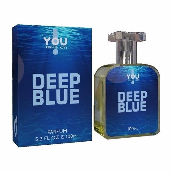 Perfume Deep Blue Masculino 100 Ml