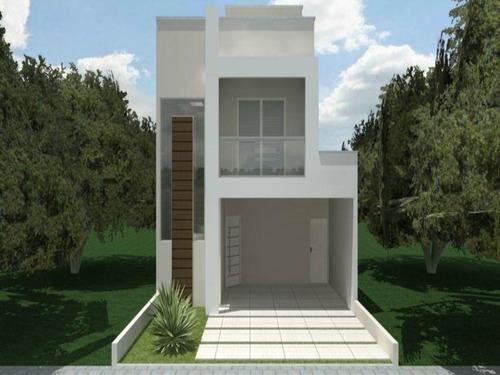 Sobrado Com 3 Dormitórios À Venda, 185 M² Por R$ 590.000,00 - Condomínio Villagio Milano - Sorocaba/sp - So0016 - 67640346