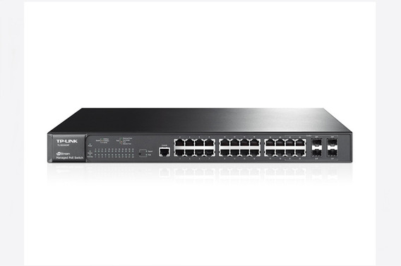 Switch Administrable Poe Tp-link Tl-sg3424p 24p + 4 Sfp Giga