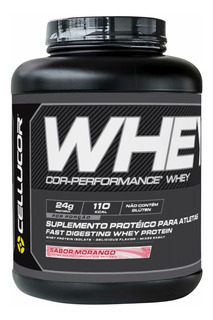 Whey Cor Performance 1626g Isolado Concentrado Cellucor Full