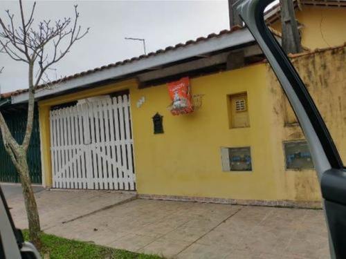 Casa No Bairro Jardim Suarão Com Churrasqueira Itanhaém 7044