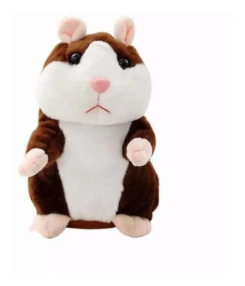 Hamster Falante Repete Fala Dança Criança Presente
