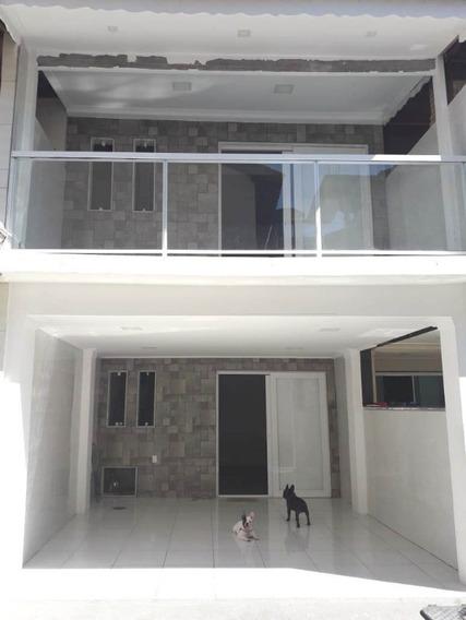 Rancho Novo/nova Iguaçu. Casa 2 Suítes,sala, Cozinha, 3 Banheiros, Terraço E Garagem. - Ca00634 - 34270436