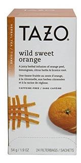 Tazo Wild Orange Orange Filter Bag Tea 24count Packages P