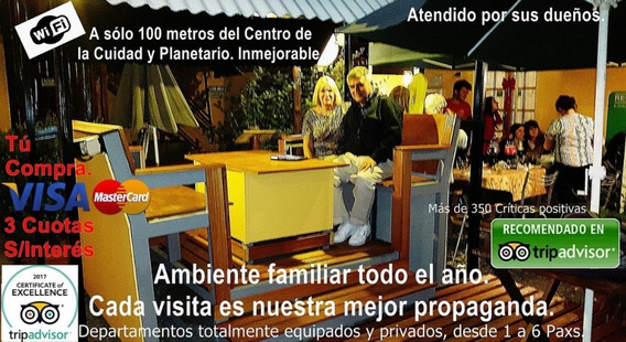 Malargüe, Mendoza Distinguidos Departamentos De 1 A 6 Paxs.