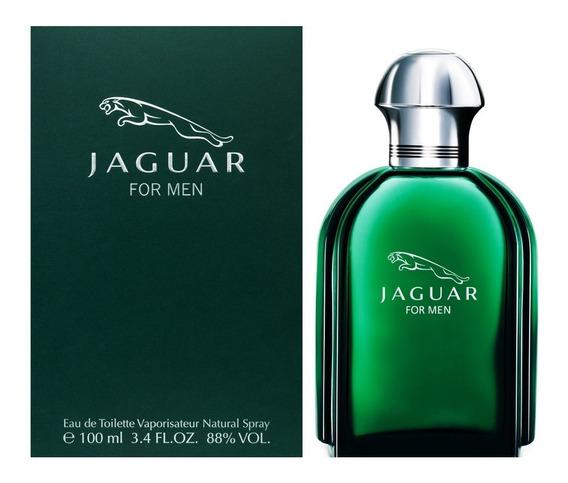 Perfume Jaguar For Men Edt 100ml Verde Lacrado Original