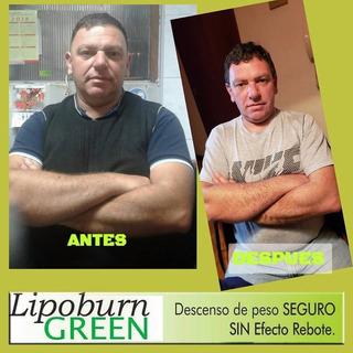 Lipoburn Green Potente Quemador De Usa