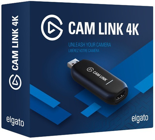 Dispositivo De Captura Compacto Elgato Cam Link 4k
