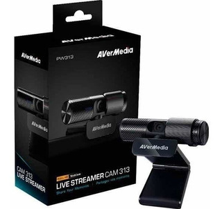 Cámara Web Avermedia Live Streamer Cam313 Full Hd 1080p