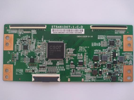 Placa T-con Tv Semp Tcl 55p65us St5461do7-1-c-d