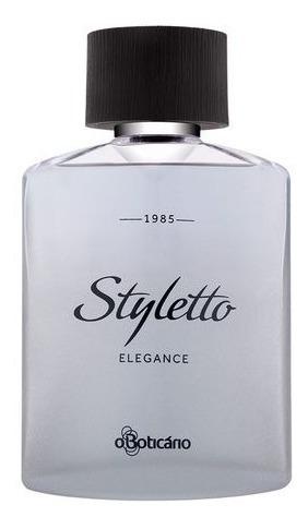 -oferta, Perfume Masc. Styletto Elegance, 100ml O Boticário