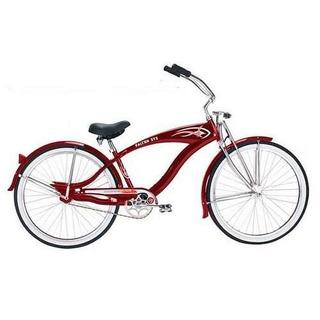 Micargi Gts Beach Cruiser Bicicleta Rojo Falcon 26 Pulgadas