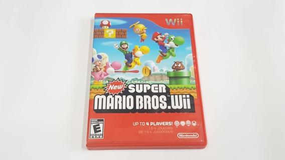 Jogo New Super Mario Bros - Wii - Original - Midia Fisica