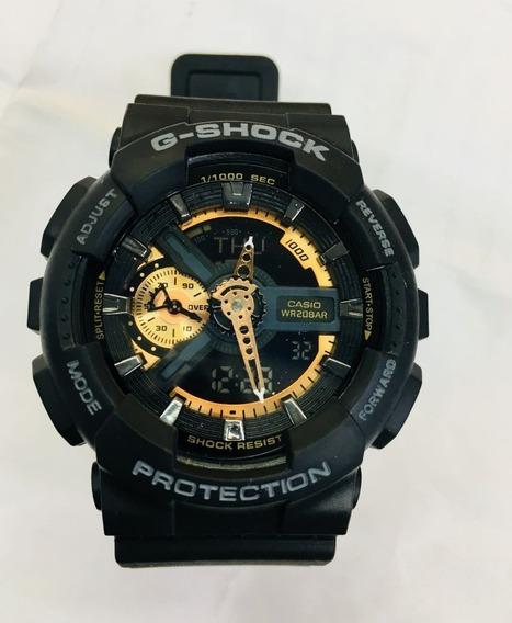 Relógio Casio G-shock Ga-110rg-1a Masculino - [ Ga-110rg-1a