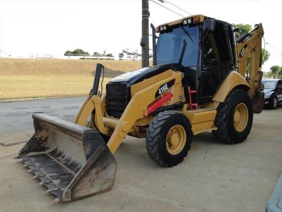 Retro Escavadeira Cat 416e 2011