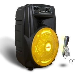 Parlante Portatil Radio Fm Auxiliar Bluetooth Usb 1500w Usb