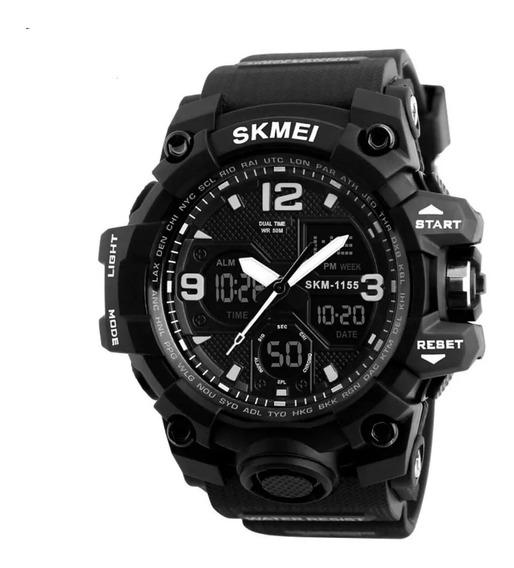 Relógio Masculino Skmei Choque 1155 Digital Analógico
