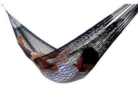 Rede Descanso Dormir Em Nylon Tarrafa Camping Pesca