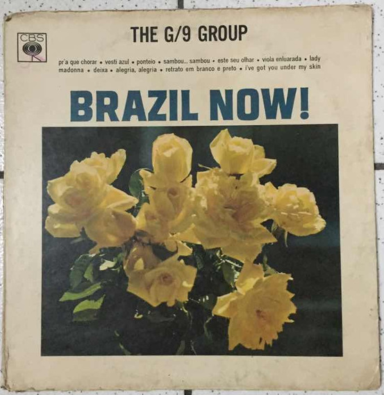 Lp Brazil Now - The G/9 Group