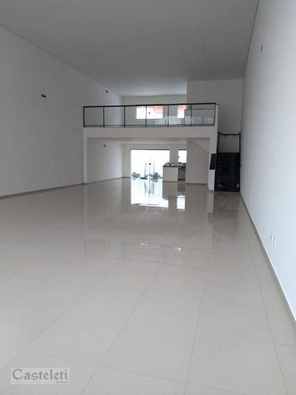 Salão Para Alugar, 270 M² Por R$ 8.500/mês - Vila Itapura - Campinas/sp - Sl0335