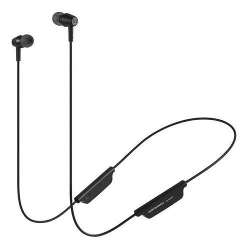Imagen 1 de 8 de Auricular Audio Technica Ath Clr100bt Bluetooth Negro