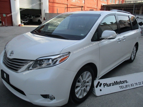Toyota Sienna Limited 2015 Quemacocos Piel Gps Dvd$379,000